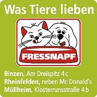 Logo Fressnapf Binzen/Rheinfelden/Müllheim