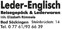 Logo Leder Englisch