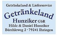 Logo Getränkeland Hunziker GbR