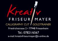 Logo Kreativfriseur Mayer