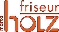 Logo Friseur Holz